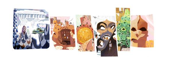 Doodle de Gaudí