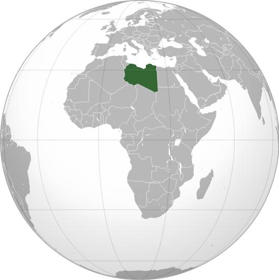 Libia en el mundo. Mural.ly