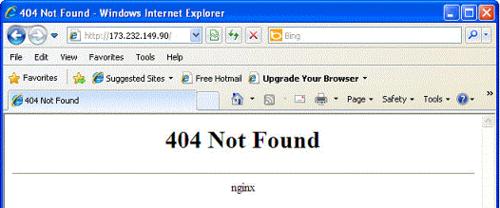 404 nginx
