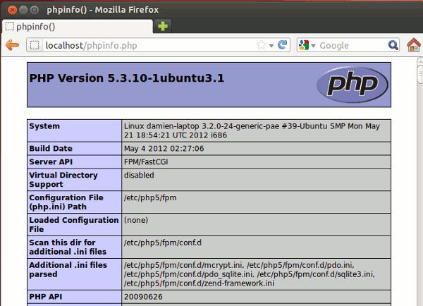 lemp-phpinfo